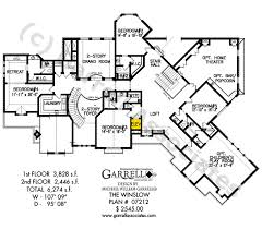 style house floor plans winslow house plan house plans by garrell associates inc