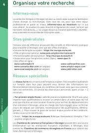 chambre de commerce à l étranger mini guide travailler à l étranger edition 2016