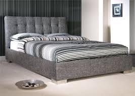 Sleigh Platform Bed Frame by Bedroom Luxurious Bedroom Design With Upholstered Bed Frame