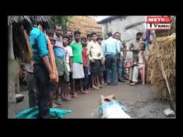 bureau metro killed by younger in tihidi block of bhadrak district