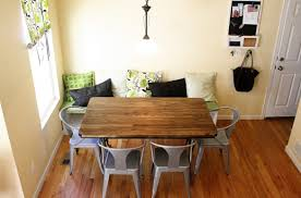 table nook dining table stunning corner kitchen tables high noon