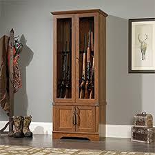 Wood Gun Cabinet A Wooden Gun Cabinet That Would Look Good Fssca