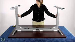 how to program autonomous desk uplift 900 electric desk assembly youtube