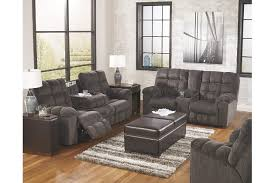 Side Table For Recliner Chair Acieona Reclining Sofa With Drop Down Table Ashley Furniture