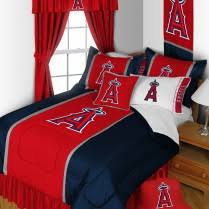 Baseball Comforter Full Los Angeles Angels Mlb Bedding Sets U0026 Baseball Team Comforters At