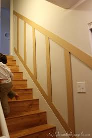 basement office remodel simply beautiful by angela basement staircase board and batten