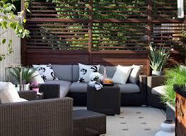 marvelous sunbrella furniture in patio contemporary with privacy