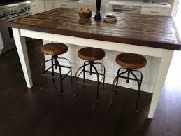 wooden kitchen islands best 25 reclaimed wood countertop ideas on copper