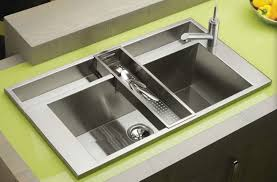 Kitchen Sinks Top Mount by Stainless Steel Kitchen Sinks Double Bowl Stainless Steel