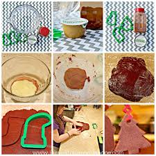 handmade christmas tree cinnamon ornaments i have a future and