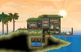 starbound houses starbound beach house terraria and starbound pinterest