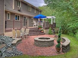 Backyard Slope Landscaping Ideas Triyae Com U003d Deck Ideas For Steep Backyard Various Design
