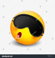 German Flag Emoji Cute Sleeping Emoticon Wearing Sleep Mask Stock Vector 457443619