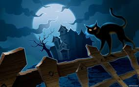 halloween desktop wallpaper widescreen black cat desktop wallpapers group 76