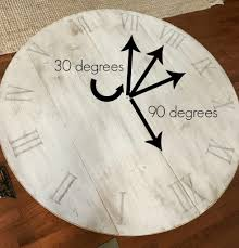 Wooden Wall Clock How To Make A Diy Wooden Wall Clock