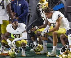 Quenton Nelson Bench Press Vorel Time For Notre Dame To Tune Out The Noise Focus On Navy