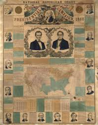 1860 Election Map by Abraham Lincoln 100 Photographs The Most Influential Images Of