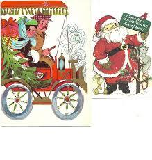 66 best christmas cards old images on pinterest vintage