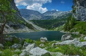 discover slovenia u2014 lake krn slovenia the lake is 400 metres