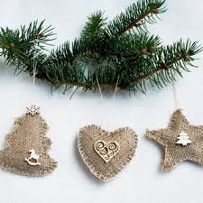 best burlap ornament products on wanelo