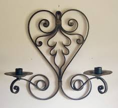 Iron Candle Wall Sconce Wrought Iron Candle Wall Sconces Ideas Choose Wrought Iron