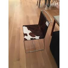 Cowhide Dining Room Chairs by Ligne Roset Fil Cowhide Dining Chairs Aptdeco