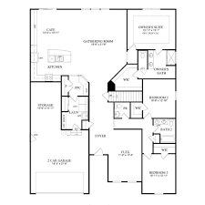 Pulte Floor Plans Amberwood New Home Plan Westfield In Pulte Homes New Home