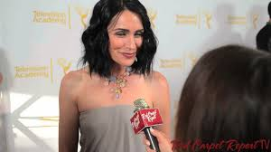 rena sofer hairstyles rena sofer at the 2014 daytime emmy awards nominee party