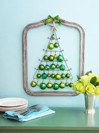 shiny ways to decorate with ornaments ideas