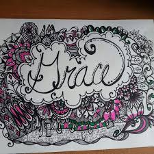 pattern art name custom name doodle grace art amino