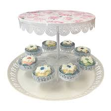 cupcake stand with led lights buy cake dessert stand with 8 cupcake holder metal filigree f