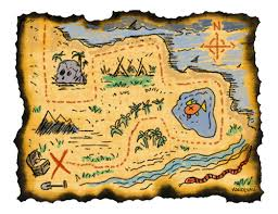 treasure map clipart treasure map clip free clipartix