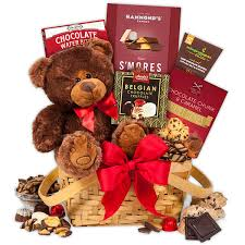 valentines day teddy bears teddy chocolates s day gift basket by