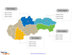 Blank Map Of The West Region by Free Slovakia Editable Map Free Powerpoint Templates