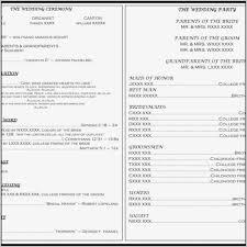 wedding program catholic mass christmas wedding program templates template resume exles