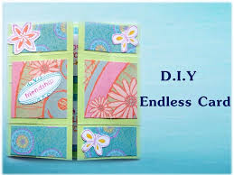 How To Make Origami Greeting Cards - how to make an endless card