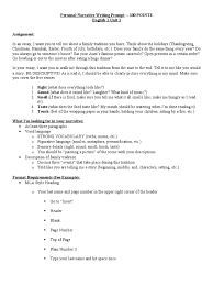 thanksgiving writing assignment family narrative essay