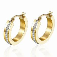 gold earrings with price 316l stainless steel gold earrings designs with price buy gold