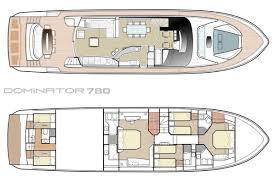 Luxury Yacht Floor Plans by Dominator 780s Luxury Charter Yacht Croatia U0026 Montenegro