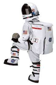 Astronaut Halloween Costume Adults Child Astronaut Suit White Neil Armstrong Costume