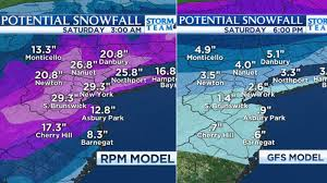 nyc will get either 3 or 30 inches of snow this weekend