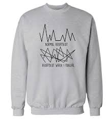 one direction sweater normal heartbeat vs when i fangirl sweater instagram