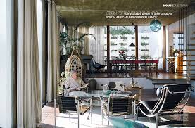 Home Decor Magazines South Africa Gwen And Gawie Fagan For Elle Decoration South Africa No 106