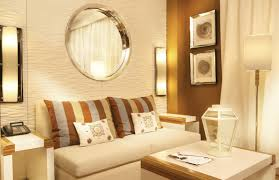Mirrors In Living Room Decoration Modern Furniture For Living Space Round Shape Silver