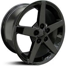 corvette wheels corvette 17x8 5 06 black hpo wheels rims buy 129