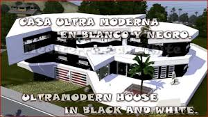 sims 3 ultra modern house mediterranean white hd youtube