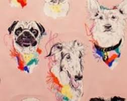 pug wrapping paper pug wrapping paper gift wrap for pug pugs read