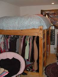 Loft Bed With Closet Underneath Best 25 King Size Bunk Bed Ideas On Pinterest Bunk Bed King