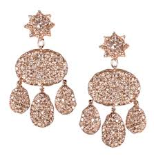 arabian earrings diamonds and pink tourmalines parulina launches the arabian