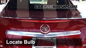 cts third brake light repair third brake light bulb change cadillac cts 2015 2016 2015